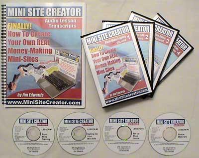 mini site creator