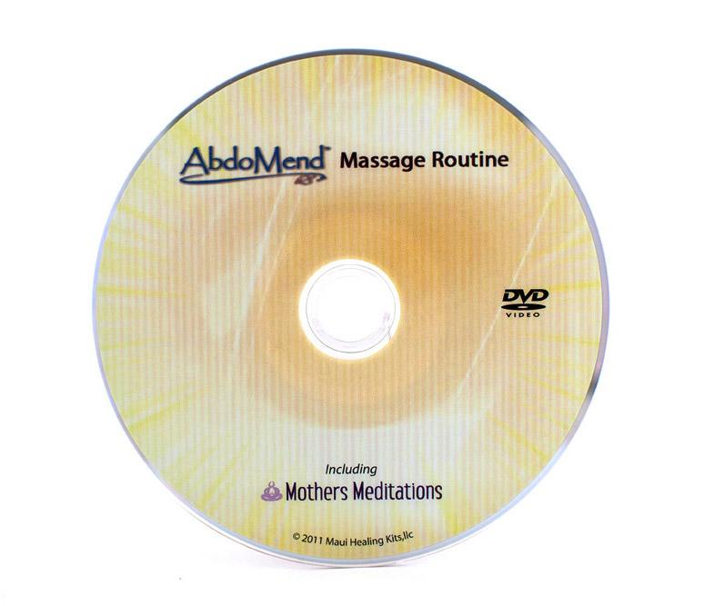 abdominal self massage